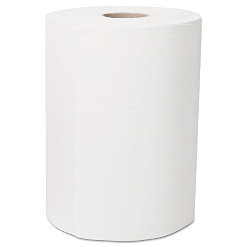 Ultra Soft Slimroll Hard Roll Towel, 2-Ply, 7.87 x 262 ft, White, 6/Carton