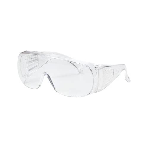 Unispec II Safety Glasses, Clear, 50/Carton
