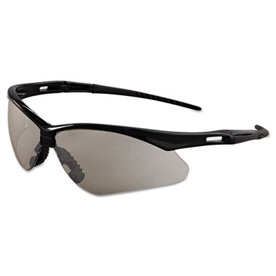 Nemesis Safety Glasses, Black Frame, Indoor/Outdoor Lens