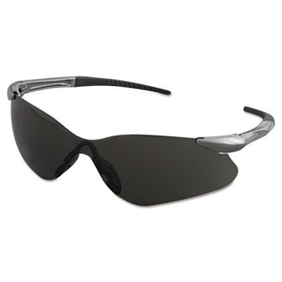 V30 Nemesis VL Safety Glasses, Gun Metal Frame, Smoke Lens