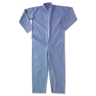 A65 Flame Resistant Coveralls, 2X-Large, Blue