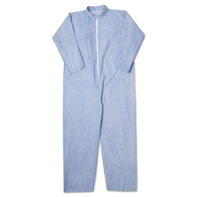 A65 Flame Resistant Coveralls, 3X-Large, Blue