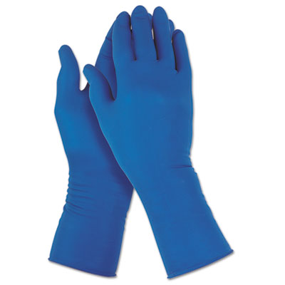 G29 Solvent Resistant Gloves, Medium/Size 8, Blue, 500/Carton