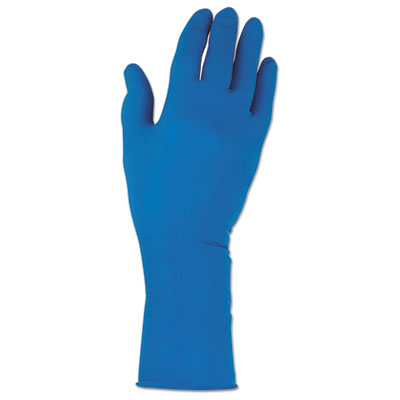 G29 Solvent Resistant Gloves, Large/Size 9, Blue, 500/Carton