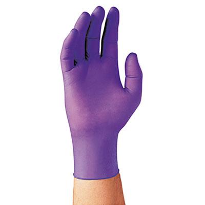 PURPLE NITRILE Exam Gloves, Large, Purple, 1000/Carton