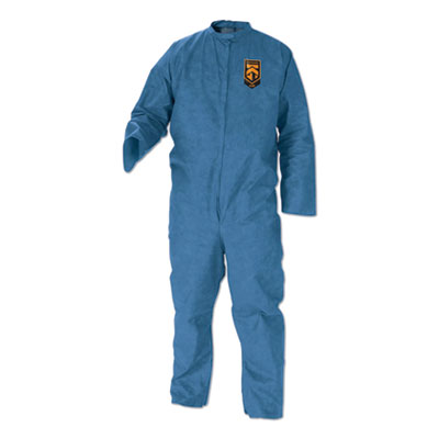 A20 Breathable Particle-Pro Coveralls, Zip, 2X-Large, Blue, 24/Carton