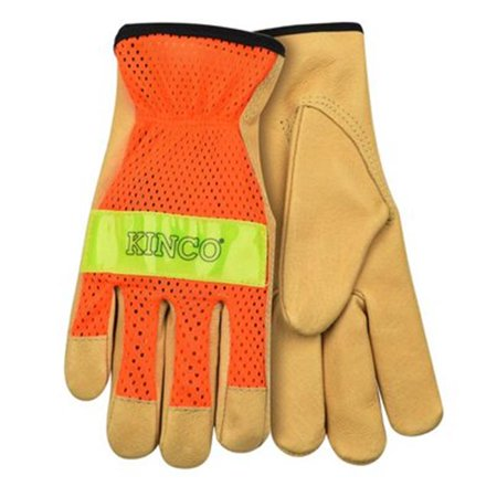 GLOVES DRVR PIGSKIN LTHR LARGE