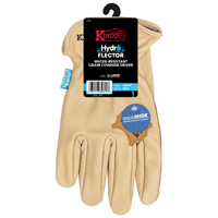 GLOVES DRIVER COWHIDE MEDIUM