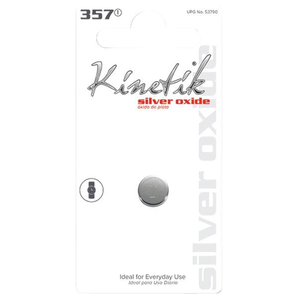 Kinetik 53790 Watch Battery (357, Single)