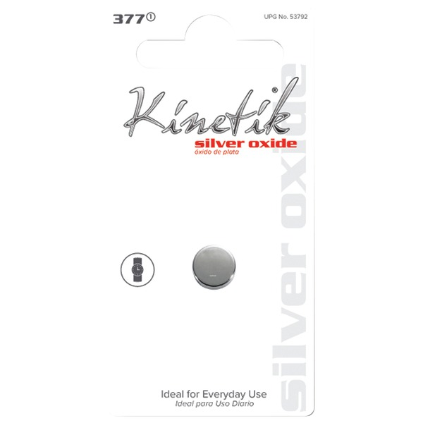 Kinetik 53792 Watch Battery (377, Single)