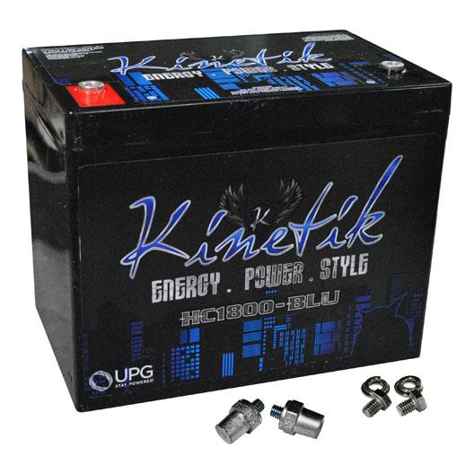 Kinetik BLU 1800W 12V Power Cell