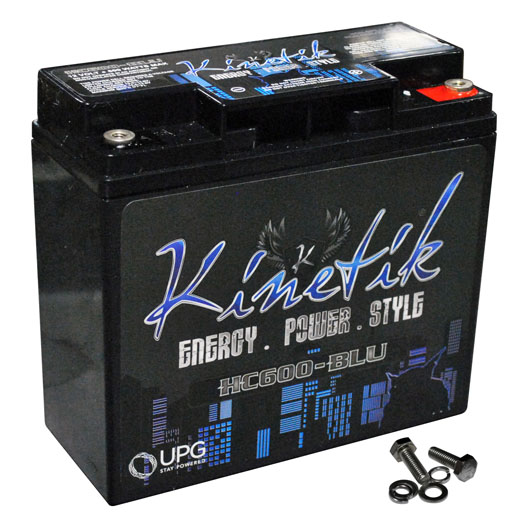 Kinetik BLU 600W 12V Power Cell