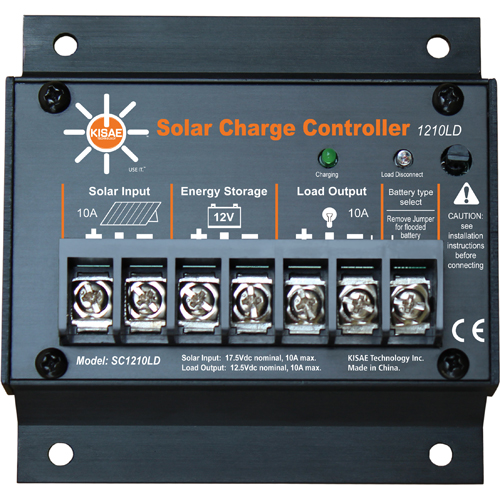 10A Charge Controller with Load Disconnect