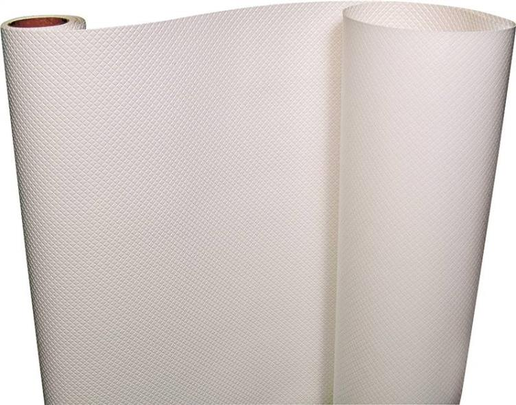 "SHELF LINER TEXTURE WHT 20""X5'"