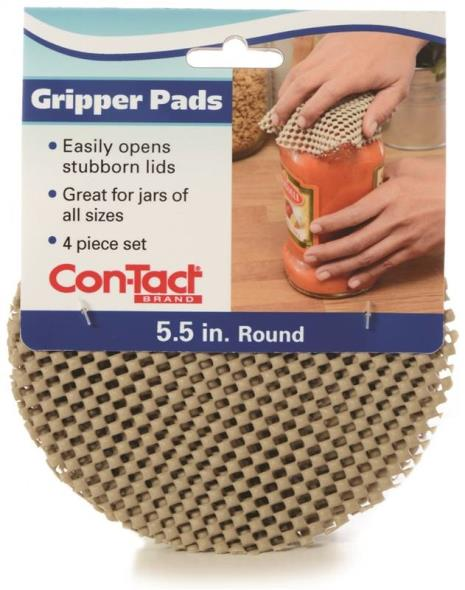 Con-Tact KTCH-CGP003-24 Round Gripper Pad, Taupe