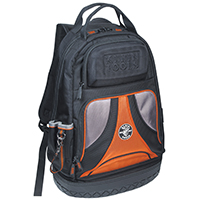 Tradesman Pro 55421BP-14 Soft Sided Tool Backpack, 14-1/2 in L x 7-1/4 in W x 20 in D, Polyester