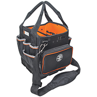 Tradesman Pro 5541610-14 Hard Sided Tool Tote, 10 in L x 10-1/4 in W x 12-1/4 in D, Polyester