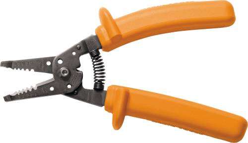 KLEIN INSULATED WIRE STRIPPER AND CUTTER 8 IN.
