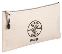 5139 CANVAS ZIPPER BAG