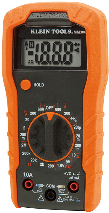 MM300 600V DIGITAL MULTIMETER
