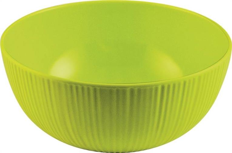 Knack3 166110I Textured Round Bowl, 6 in Dia, Melamine