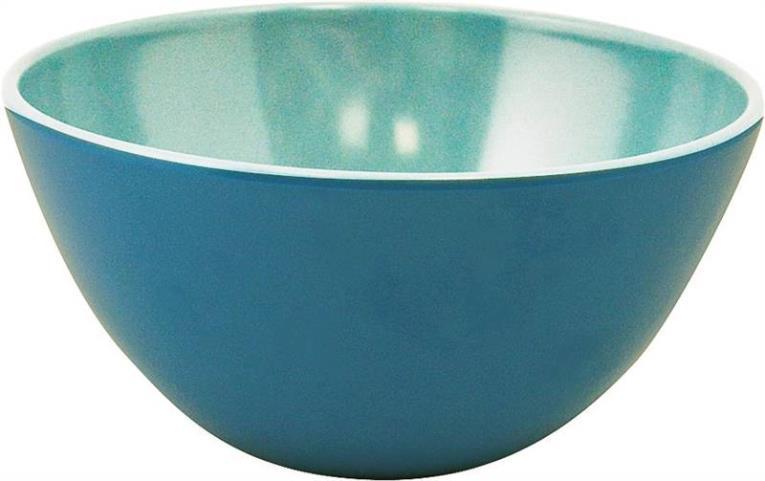 Knack3 185601I Bowl, 5-3/4 in Dia, Melamine Bohemian Brights