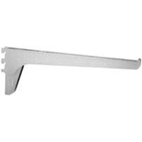 Knape & Vogt 185B ANO 16 Extra Duty Standard Shelf Bracket, 16 in L 14 ga T, Steel