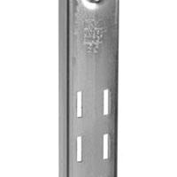 Knape & Vogt 85 ANO 36 Extra Duty Standard Shelf Bracket, 36 in L x 1-1/4 in W x 1/2 in D x 16 ga T, Steel