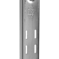 Knape & Vogt 85 ANO 24 Extra Duty Standard Shelf Bracket, 24 in L x 1-1/4 in W x 1/2 in D x 16 ga T, Steel