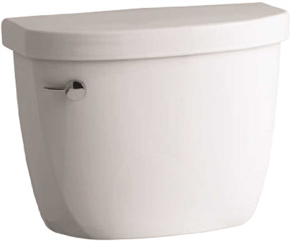 KOHLER CIMARRON� WATERSENSE� HIGH-EFFICIENCY TOILET TANK ONLY  WITH LEFT-HAND TRIP LEVER, 1.28 GPF, WHITE