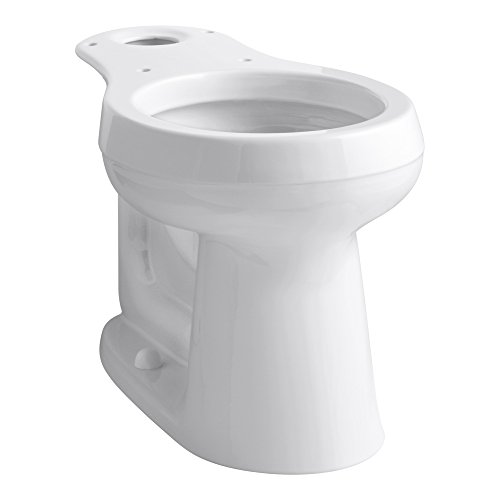 KOHLER CIMARRON� COMFORT HEIGHT� ROUND TOILET BOWL ONLY , WITH 12 IN. ROUGH-IN, WHITE