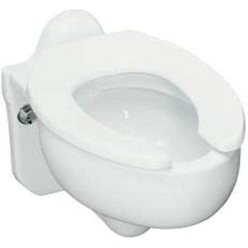 KOHLER SIFTON� WALL-MOUNTED ELONGATED TOILET BOWL WITH REAR INLET, 3.5 GPF, WHITE