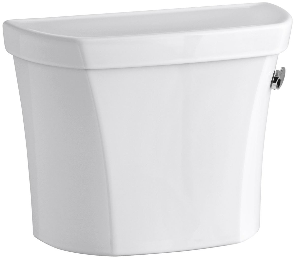 KOHLER WELLWORTH� CLASS FIVE� 1.6 GPF TOILET TANK ONLY  WITH RIGHT HAND TRIP LEVER, WHITE