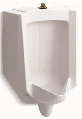 KOHLER BARDON� HIGH-EFFICIENCY URINAL, TOP SPUD, 0.125 TO 1.0 GPF, WHITE