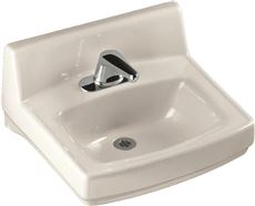 KOHLER GREENWICH� WALL-MOUNT BATHROOM SINK WITH 4 IN. CENTERS, 20-3/4 IN. X 18-1/4 IN., WHITE