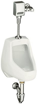 KOHLER DARFIELD� WASHOUT URINAL WITH TOP SPUD, WHITE