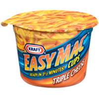 EASY MAC & TRIPLE CHEESE 2OZ
