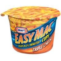 EASY MAC & TRIPLE CHEESE 2OZ