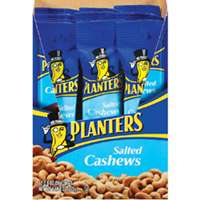 SALTED CASHEWS PLANTERS 2OZ
