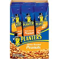 Planters 549752 Peanuts, 2.5 oz Bag, Honey Roasted
