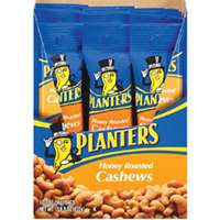 Planters 548268 Cashew, 2 oz Bag, Honey Roasted