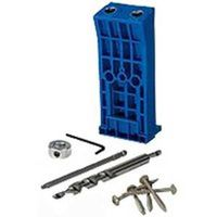 Kreg KJHD Heavy Duty Pocket Hole Jig Kit, Glass Filled Nylon
