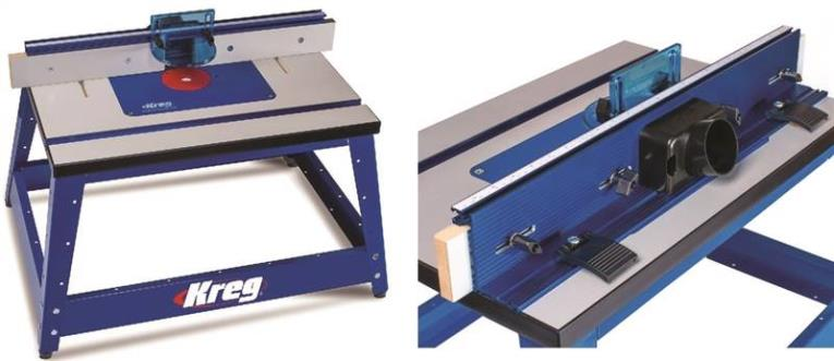 ROUTER TABLE BENCHTOP KREG