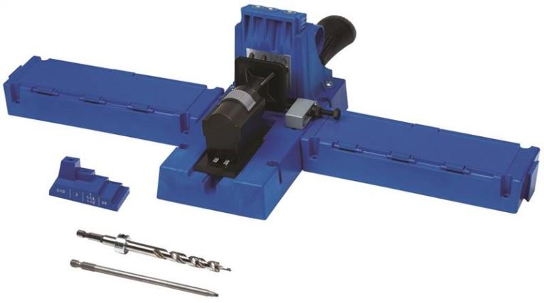 Kreg Jig Pocket Hole System, 1/2 - 1-1/2 in Thick, Glass Filled Nylon