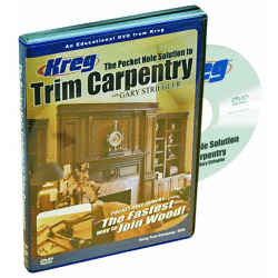 DVD FOR TRIM CARPENTRY