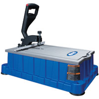 Kreg DB210 Concealed Foreman Pocket-Hole Machine, 1/2 - 1-1/2 in T, Polyurethane Base, Cast Aluminum Tabletop