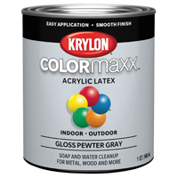PAINT GLOSS PEWTER GRAY 1QT