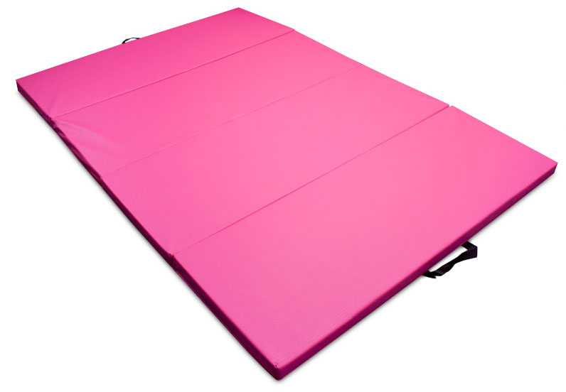 Pink Children's and Gymnastics 4' x 6' Tumbling Mat