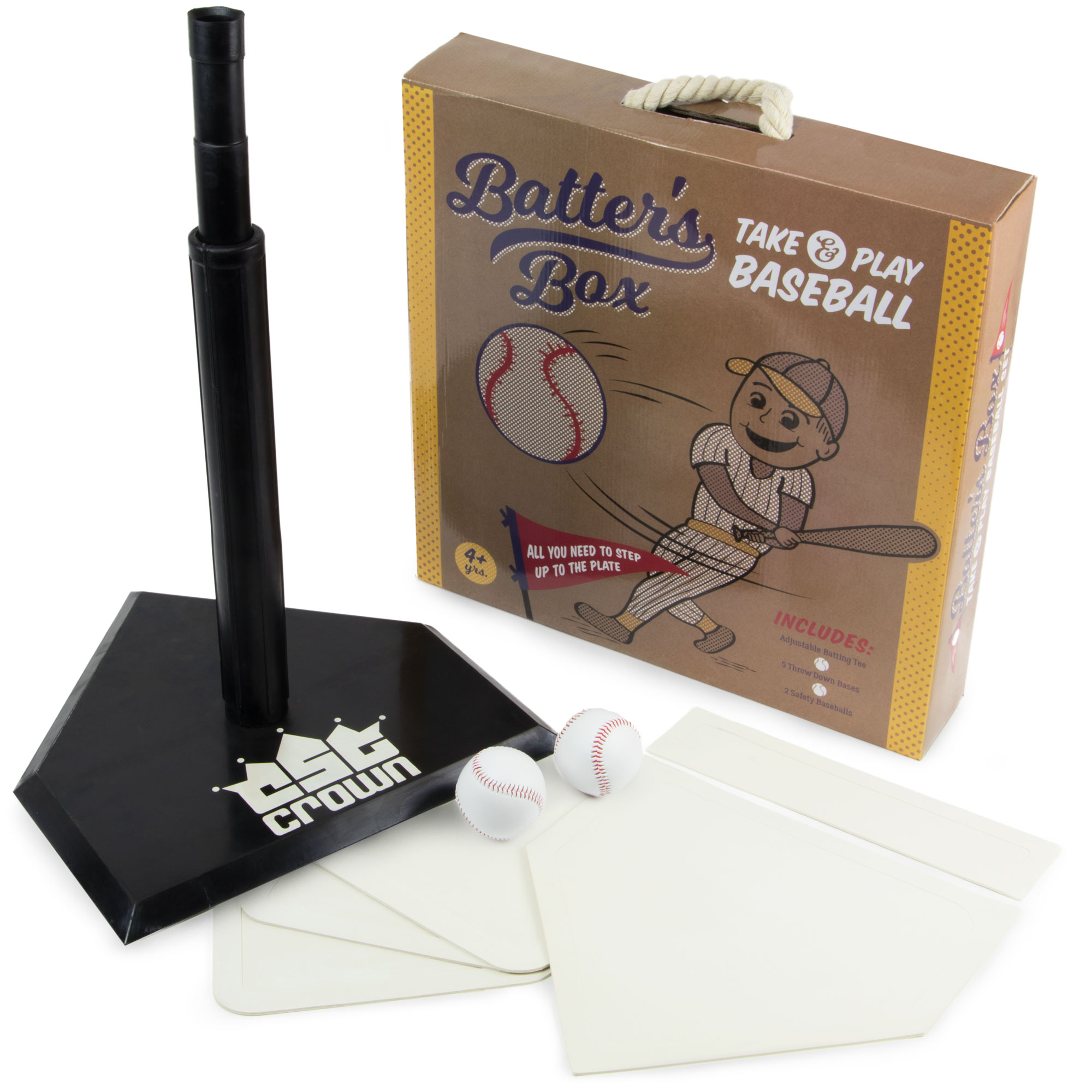 Batter's Box Take & Play Baseball Set