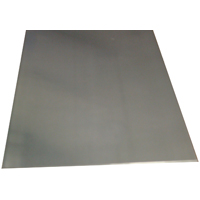 K & S 255 Metal Sheet, 0.016 in T, 10 in L x 4 in W, Aluminum